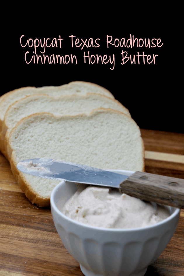 Copycat Texas Roadhouse Cinnamon Honey Butter pin