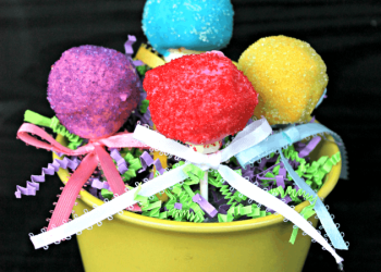 Easy Easter Cake Pops
