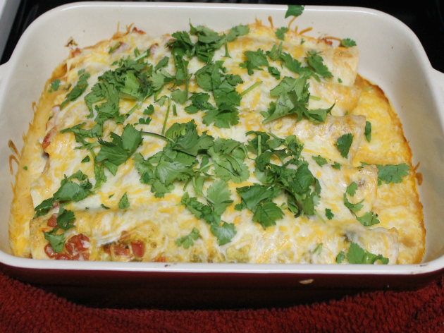 White Pork Enchiladas