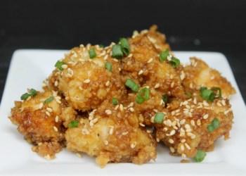 Honey Garlic Chicken With Panko Breading
