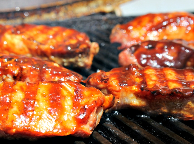 best grilled BBQ ribs
