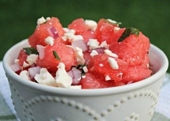 Spicy Watermelon and Feta Salad Recipe