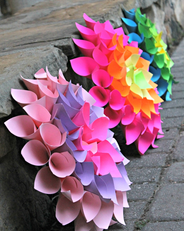 Home Decor Project: Paper Flower Craft