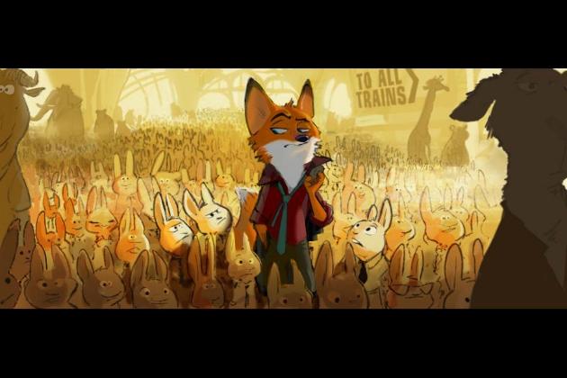 Walt Disney Animation Studios Zootopia 1