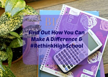 What Would The Perfect High School Look Like To You? #RethinkHighSchool