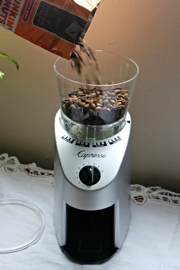 White Chocolate Raspberry Latte grinder