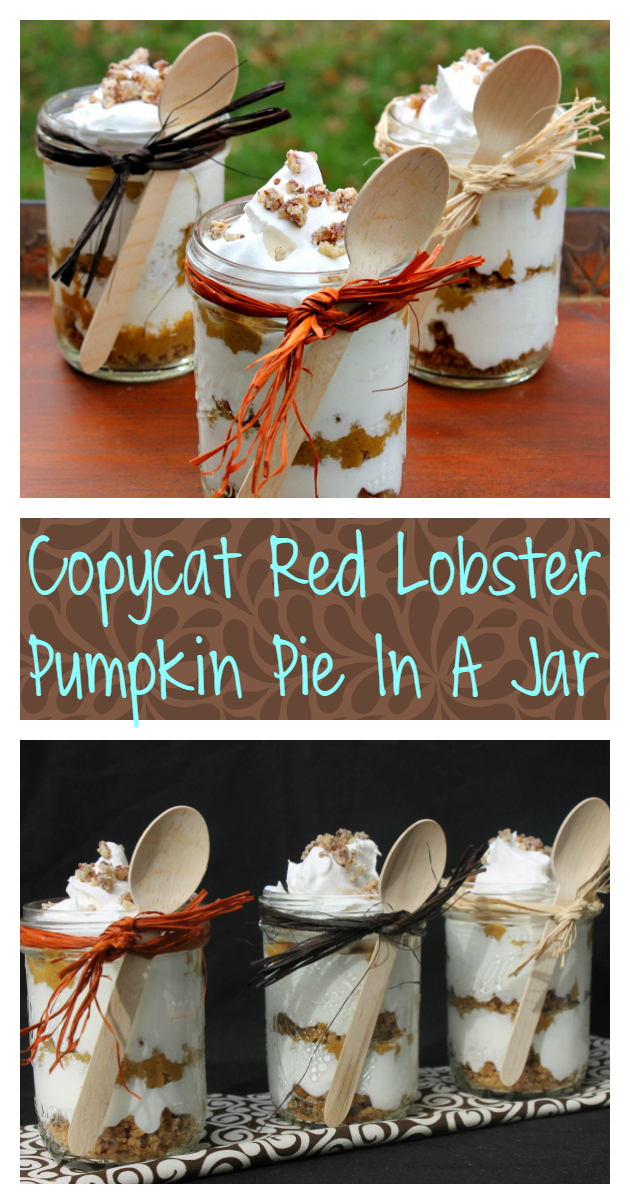 If you are looking for a last minute dessert for your holiday meal, this amazing Easy No Bake Pumpkin Pie Recipe In A Jar is a crowd pleaser!