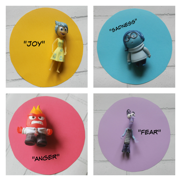 Helping Kids Express Emotions Through Play #InsideOutEmotions