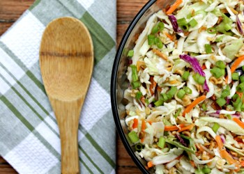 Nutty Asian Ramen Noodle Salad