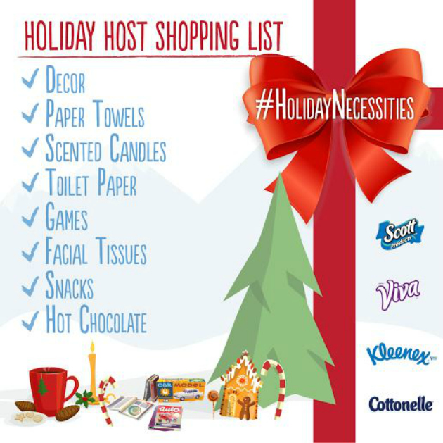 6 Tips For Stress Free Holiday Hosting #HolidayNecessities graphic