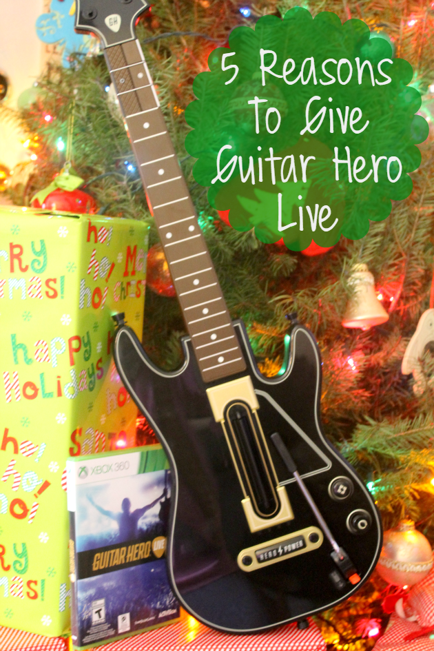 Looking for a great gift for the music lover or concert goer on your gift list? Here are 5 reasons to get them  Guitar Hero Live!