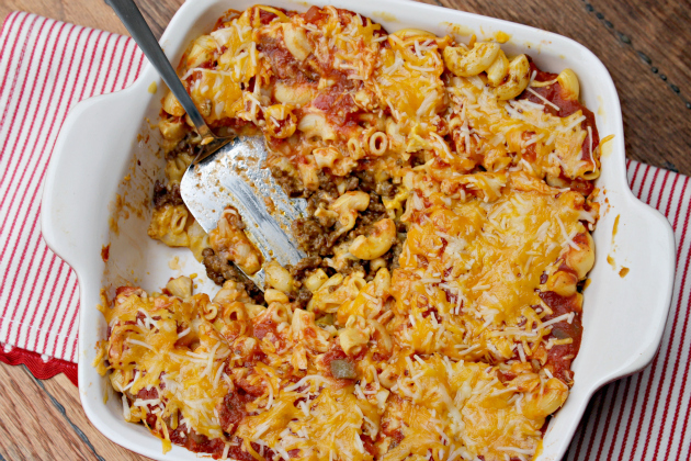 The Single-Best Cheeseburger Taco Bake 2