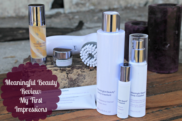 Meaningful Beauty Review First Impressions 2