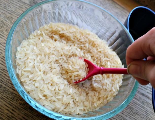 DIY No Sew Relaxing Sleep Pillow rice