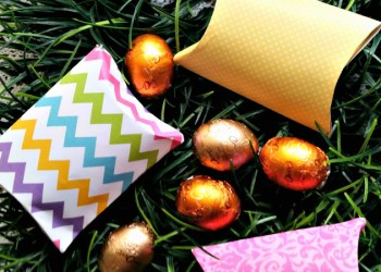 Easter Basket For Music Lovers and DIY Pillow Box Candy Holder Tutorial