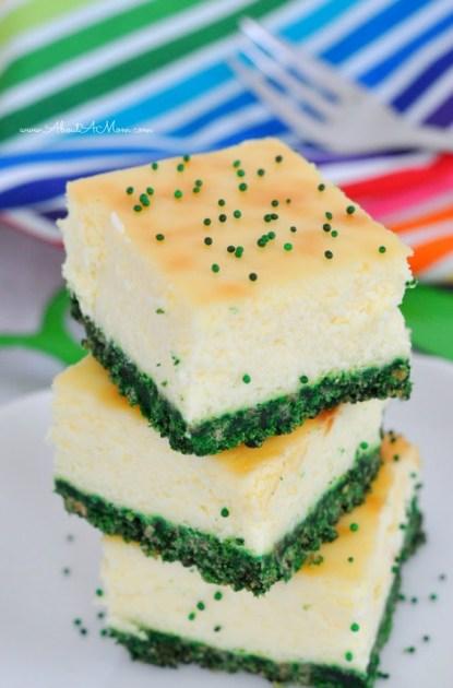Green-Velvet-Cheesecake-Bars