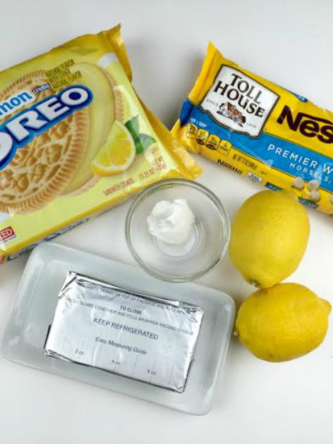 Lemon Oreo Truffles ingredients