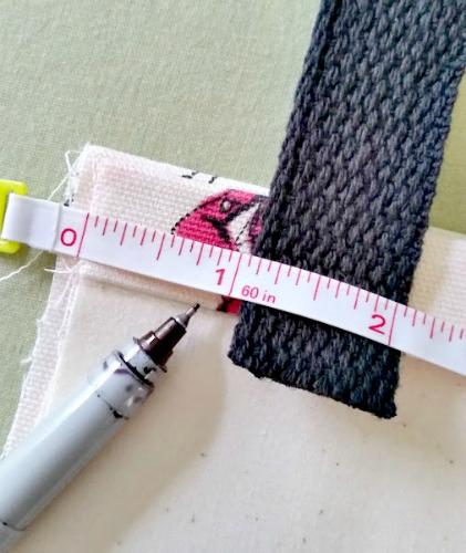 DIY No Sew Tote Bag Step 7