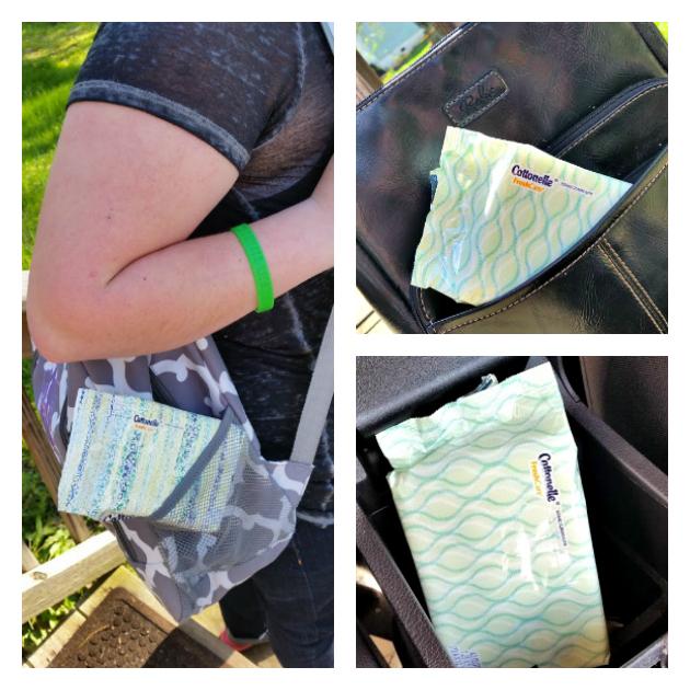DIY no sew tote bag collage 1
