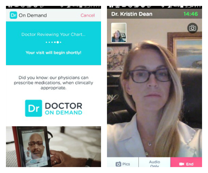 Doctor On Demand Delivers The Ultimate House Call! doctor visit