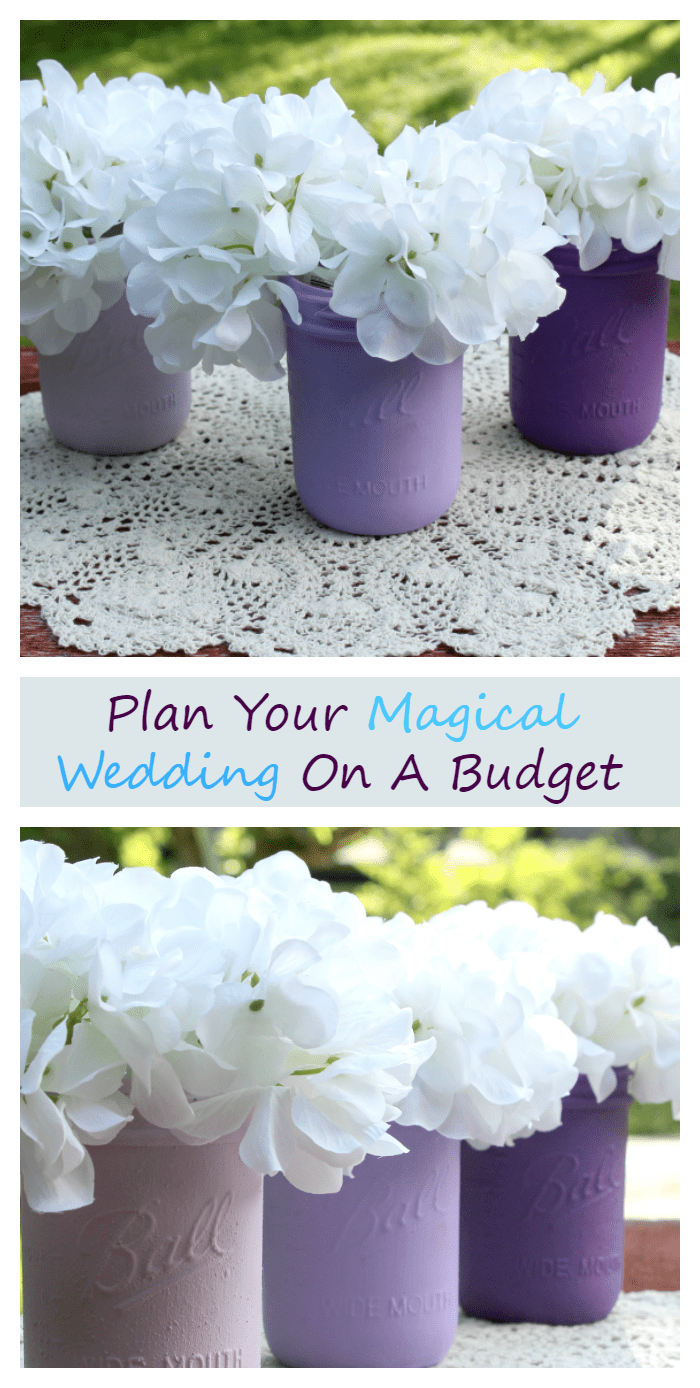 If you want to plan the wedding of your dreams, but your budget is tight? I have some great tips to plan a magical wedding on a shoestring budget