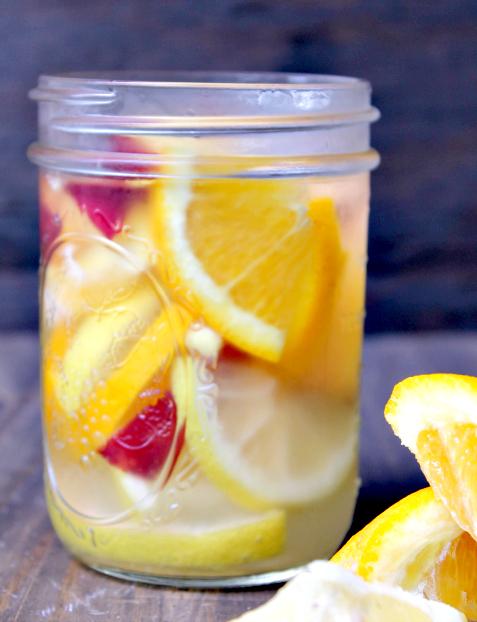 My Favorite Summer Detox Water Recipes orange