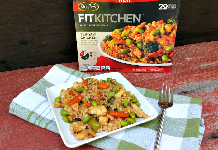 I love the have the Teriyaki Chicken when I get home from the gym. This tasty meal is filled with choice ingredients like white meat chicken, brown rice, edamame, carrots and broccoli in a zesty teriyaki sauce.