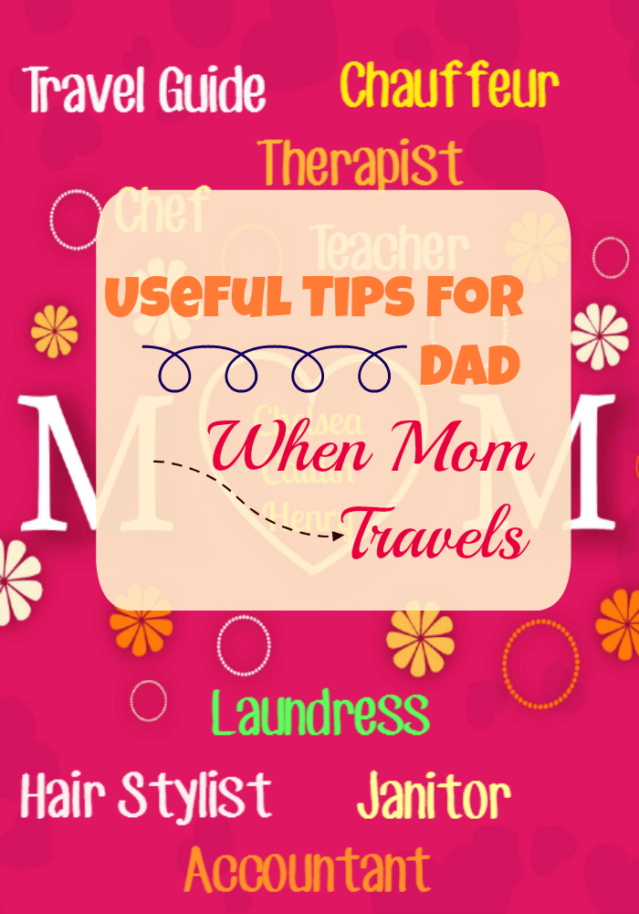 Does your family fall apart when you aren't home? Try these Useful Tips For Dad When Mom Travels #ad #TasteFitKitchen