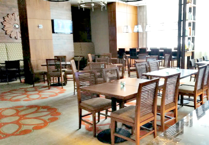 Homewood Suites Hotel dining room