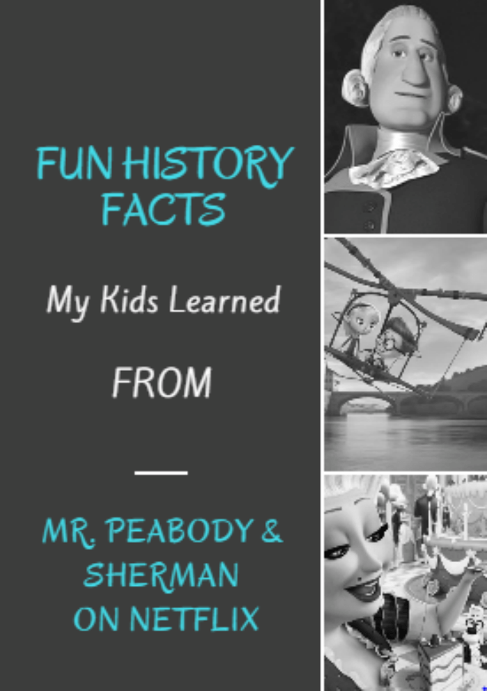 Looking for fun shows on Netflix that are also educational? Check out the Fun History Facts My Kids Learned From Peabody & Sherman #ad #StreamTeam