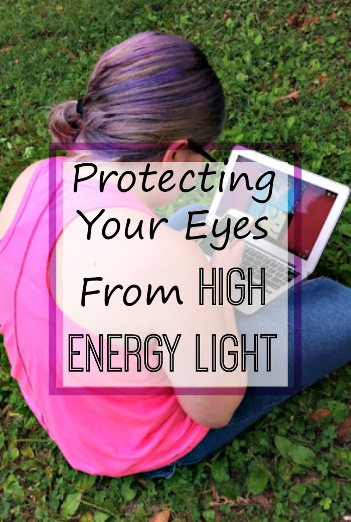 Did you know your electronic device could be harmful? Instead of giving them up, try Protecting Your Eyes From High Energy Light instead #ad #ProtectYourEyes #IC
