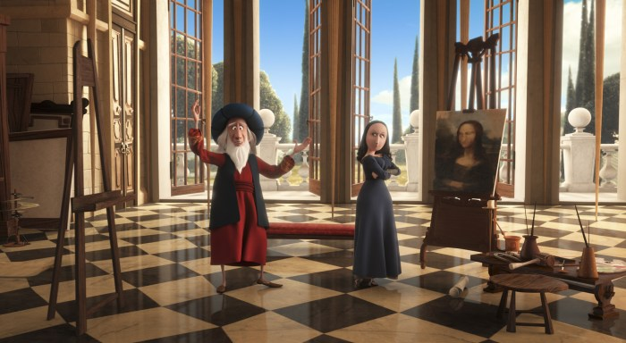 Fun History Facts My Kids Learned From Peabody & Sherman Mona Lisa