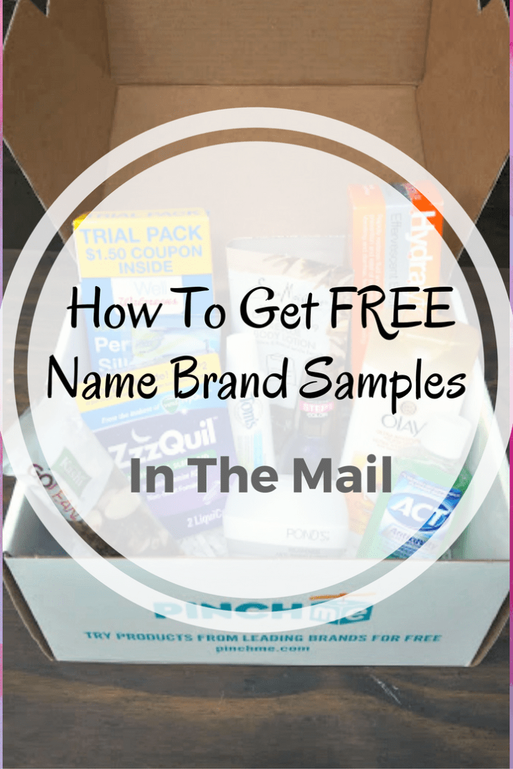 Like to try new products but hate to spend the money? Here is How To Get Free Brand Name Samples In The Mail!
