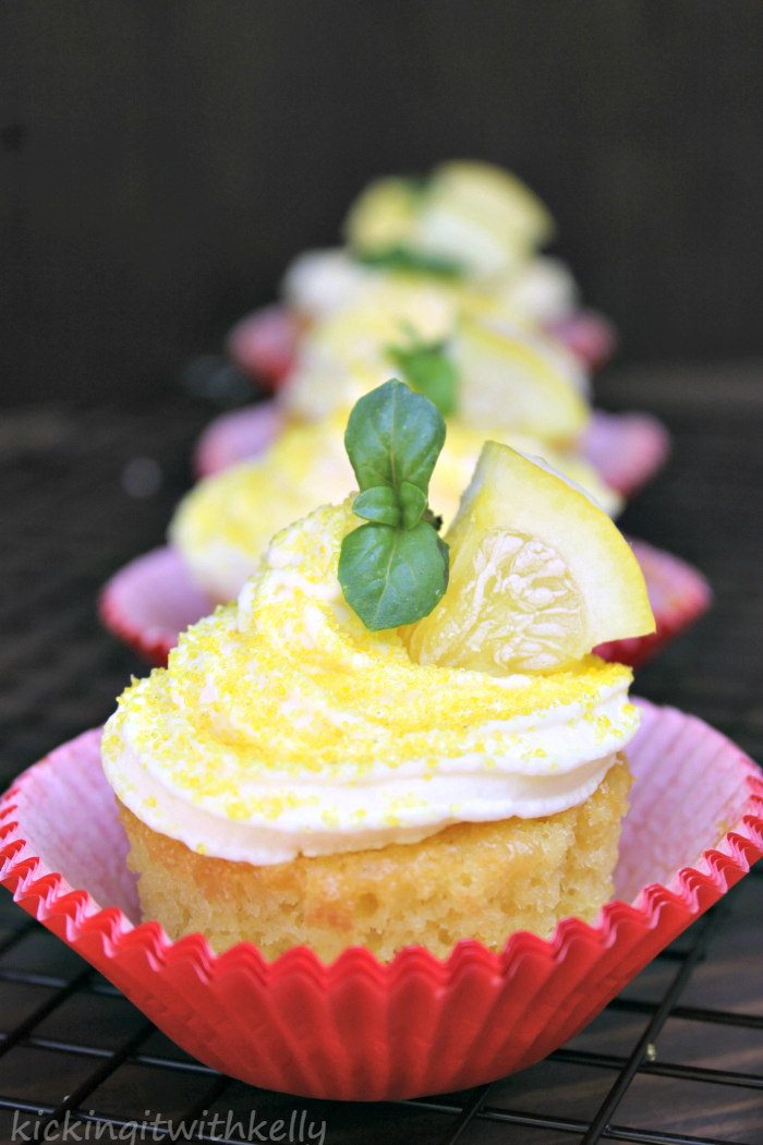 Pudding Filled Cupcakes With Zesty Lemon Buttercream Frosting 4