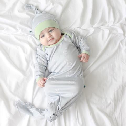 -The Best Baby Registry List You Will Ever Need knotted sleeper
