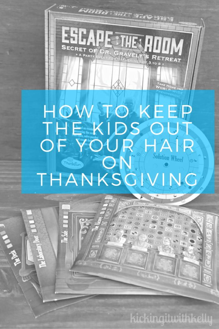For years, our Thanksgiving meal has been at my house. I love the planning, shopping, decorating and cooking. What I do not love is the antsy kids who never seem to have enough to keep them busy. This year, I have a secret weapon to keep them entertained. Games from Think Fun!