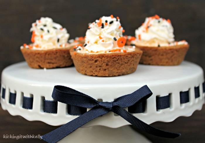 Dairy Free Mini Pumpkin Chiffon Pies ribbon