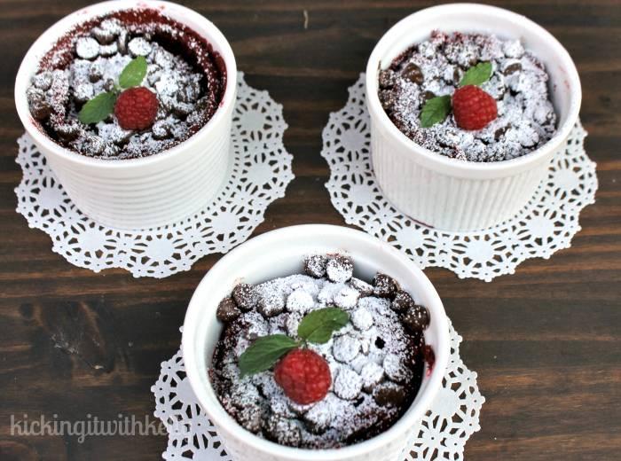 Slow Cooker Flourless Red Velvet Protein Cakes