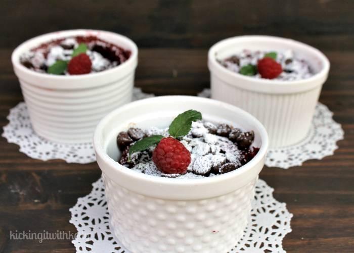 Slow Cooker Flourless Red Velvet Protein Cakes 2