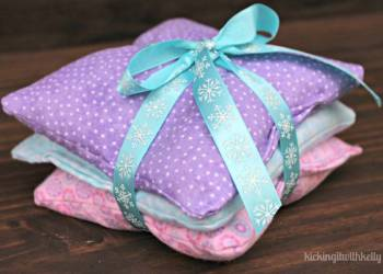 How To Make A Homemade Bean Bag Heating Pad