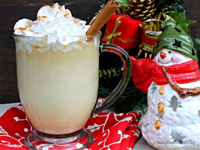 Copycat Starbucks Skinny Eggnog Latte