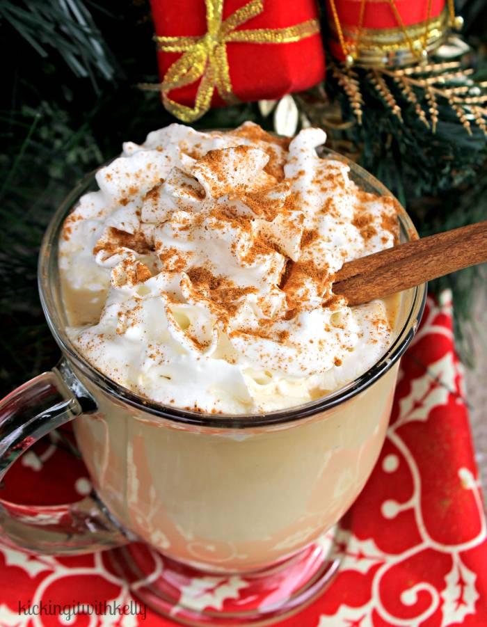 Copycat Starbucks Skinny Eggnog Latte! 3