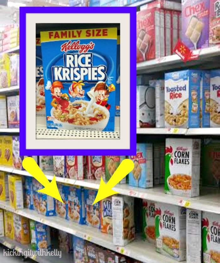 Brown Sugar Cinnamon Kellogg's® Rice Krispies®Brownies in store photo