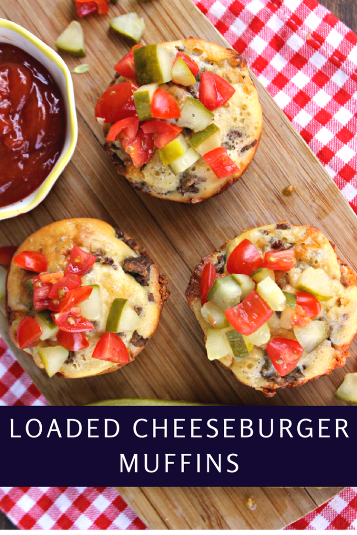 This Loaded Cheeseburger Muffins Recipe Are A Fast And Easy Meal the whole family will love!