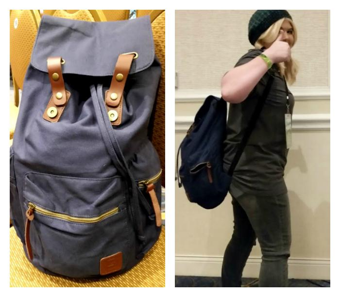 Ten Essentials You Need To Make Your Fan Convention Successful backpack