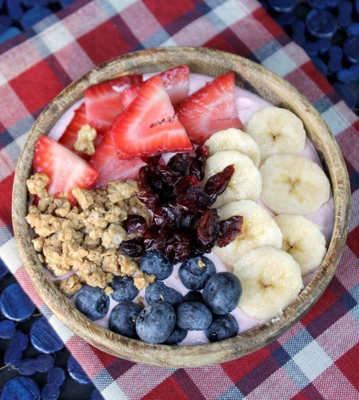 Mixed Fruit Smoothie Bowl 4