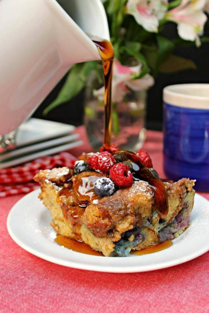Easy Blueberry French Toast Casserole Recipe 2