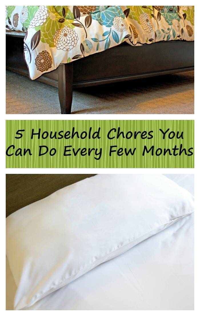 We are all busy. No one wants to clean more than they need to. That is why I came up with this list of Five Areas In Your House You Need To Clean Every 1-3 Months