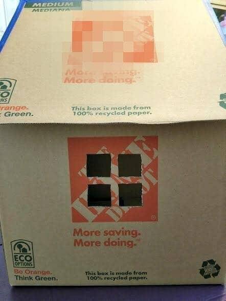 DIY Cardboard Cat House Tutorial step six