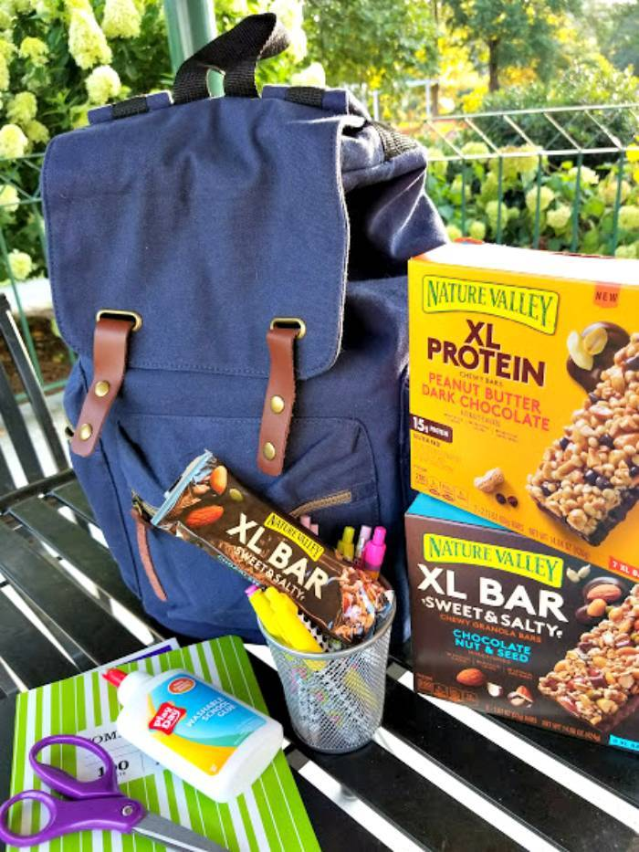 Ways To Keep Your Teen From Starving backpack two boxes
